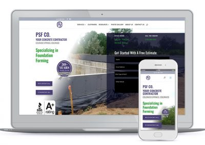 PSF Company Concrete Contractor
